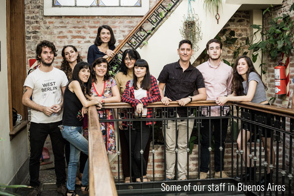 staff in Buenos Aires faculty led programs