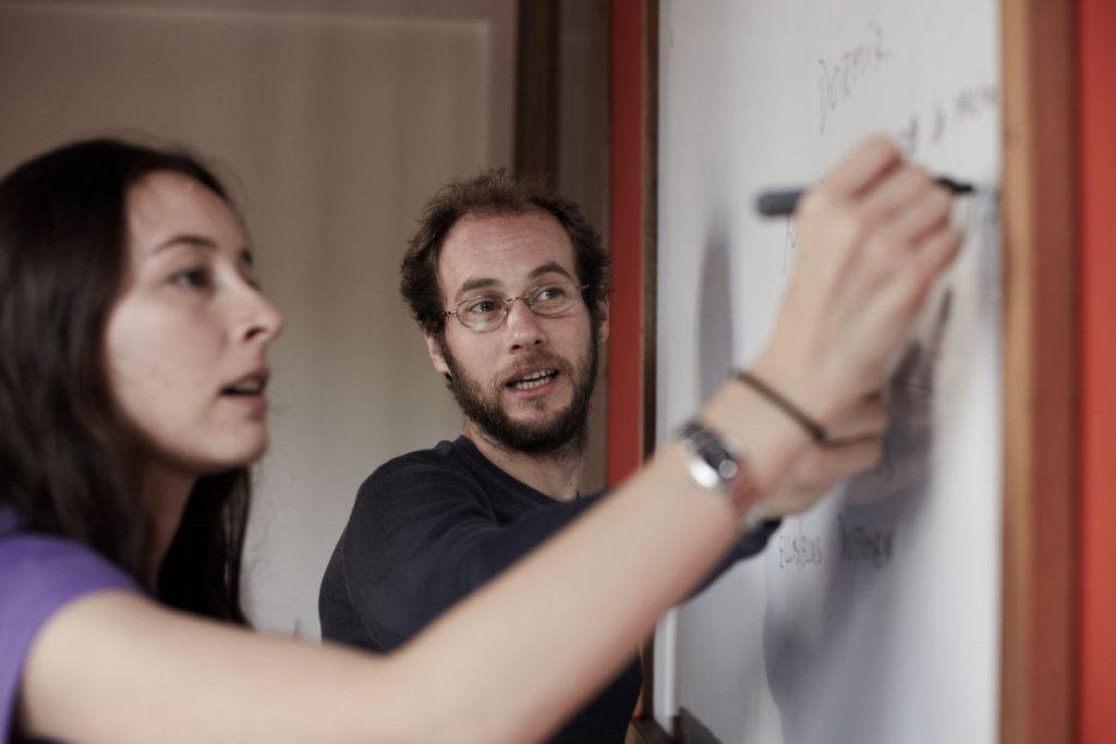 Teaching language to universities, international organizations, corporations